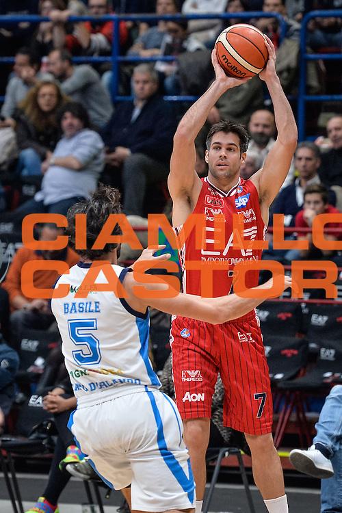 DESCRIZIONE : Milano Lega A 2015-16 <br /> GIOCATORE : Bruno Cerella<br /> CATEGORIA : Tiro<br /> SQUADRA : Olimpia EA7 Emporio Armani Milano<br /> EVENTO : Campionato Lega A 2015-2016<br /> GARA : Olimpia EA7 Emporio Armani Milano Betaland Capo d'Orlando<br /> DATA : 13/12/2015<br /> SPORT : Pallacanestro<br /> AUTORE : Agenzia Ciamillo-Castoria/M.Ozbot<br /> Galleria : Lega Basket A 2015-2016 <br /> Fotonotizia: Milano Lega A 2015-16