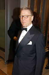 Actor EDWARD FOX at The Royal Academy dinner before the official opening of the Summer Exhibition held at the Royal Academy of Art, Burlington House, Piccadilly, London W1 on 6th June 2006.<br />