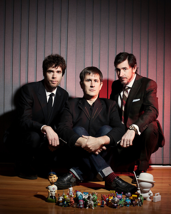 The Mountain Goats - John Darnielle, Peter Hughes, Jon Wurster, December 2010.