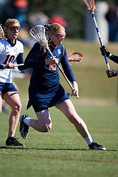 Sycrause Orange M Eileen Finn (18).  The #2 ranked Virginia Cavaliers women's lacrosse team defeated the #4 ranked Syracuse Orange 13-8 at the University of Virginia's Klockner Stadium in Charlottesville, VA on March 1, 2008.