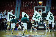 11 MAR 2009:  Colorado State University takes on Air Force Academy during the Mountain West Conference Men's Basketball Tournament held at the Thomas & Mack Center in Las Vegas, NV.  Brett Wilhelm/NCAA Photos