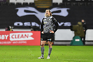 Ospreys' Jeff Hassler<br /> <br /> Photographer Craig Thomas/Replay Images<br /> <br /> EPCR Champions Cup Round 4 - Ospreys v Northampton Saints - Sunday 17th December 2017 - Parc y Scarlets - Llanelli<br /> <br /> World Copyright &copy; 2017 Replay Images. All rights reserved. info@replayimages.co.uk - www.replayimages.co.uk