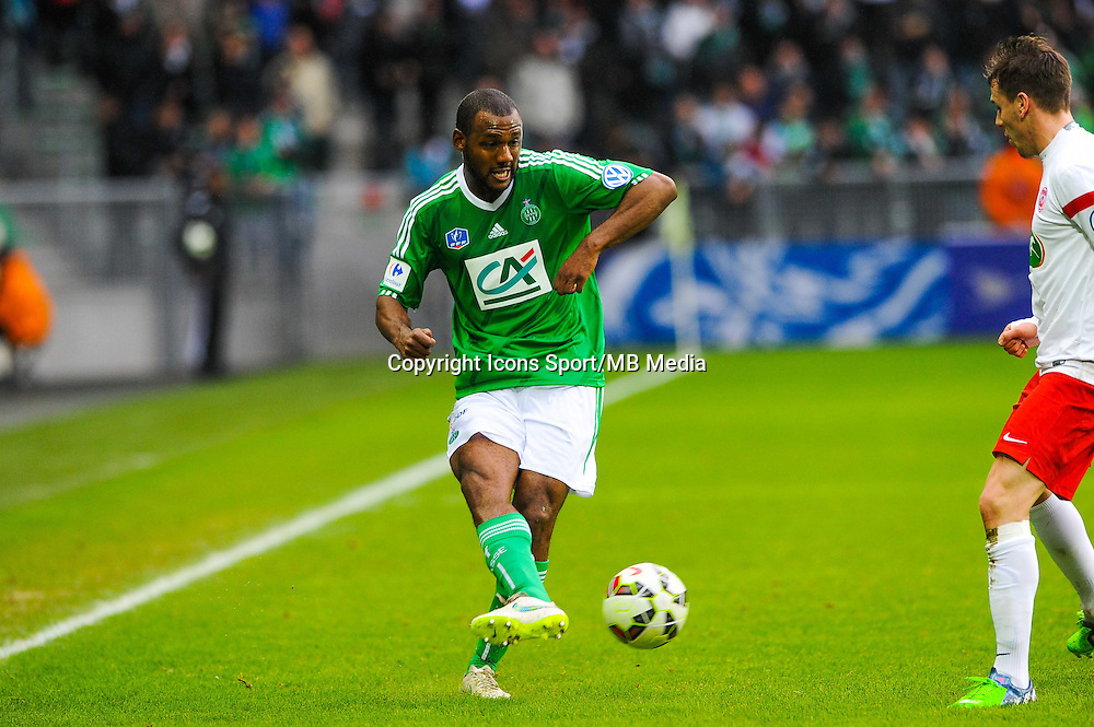 Kevin THEOPHILE CATHERINE  - 04.01.2015 - Saint Etienne / Nancy - Coupe de France<br /> Photo : Jean Paul Thomas / Icon Sport