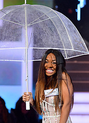 Malika Haqq enters the house during the Celebrity Big Brother Launch held at Elstree Studios in Borehamwood, Hertfordshire.