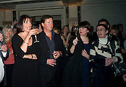 WINNER, CAROLYN MCCALL AND HER HUSBAND PETER FRAWLEY,, Veuve Cliquot Business Woman Award. Berkeley Hotel 8 April 2008.  *** Local Caption *** -DO NOT ARCHIVE-© Copyright Photograph by Dafydd Jones. 248 Clapham Rd. London SW9 0PZ. Tel 0207 820 0771. www.dafjones.com.