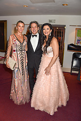 26 January 2020 - Assia Webster, Stephen Webster and Olga Balakleets at the Ballet Icons Gala at the London Coliseum, St.Martin's Lane, London.<br /> <br /> Photo by Dominic O'Neill/Desmond O'Neill Features Ltd.  +44(0)1306 731608  www.donfeatures.com