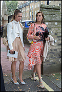 AMBER LE BON; YASMIN LE BON, Memorial service for Mark Shand.  . St. Paul's Knightsbridge. September 11 2014.