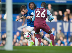 Bernard of Everton (L) breaks through to score his sides first goal - Mandatory by-line: Jack Phillips/JMP - 19/10/2019 - FOOTBALL - Turf Moor - Burnley, England - Burnley v Everton - English Premier League