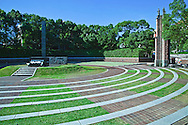 "Ground Zero Hypocenter at Nagasaki Peace Park- commemorating the atomic bombing of the city on August 9, 1945 during World War II.  A plaque at the nearby hypocentre gives the following account and statistics of the damage caused that day. ""At 11:02 A.M., August 9, 1945 an atomic bomb exploded 500 meters above this spot. The black stone monolith marks the hypocenter..The fierce blast wind, heat rays reaching several thousand degrees and deadly radiation generated by the explosion crushed, burned, and killed everything in sight and reduced this entire area to a barren field of rubble..About one-third of Nagasaki City was destroyed and 150,000 people killed or injured and it was said at the time that this area would be devoid of vegetation for 75 years. Now, the hypocenter remains as an international peace park and a symbol of the aspiration for world harmony."""