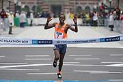 Amos Kipruto (KEN) places third in 2:06:33 in the Tokyo Marathon in Tokyo, Sunday, Feb. 25, 2018. (Jiro Mochizuki/Image of Sport)