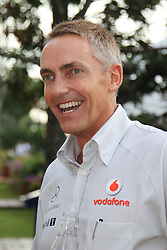 Motorsports / Formula 1: World Championship 2010, GP of Singapore, Martin Whitmarsh (ENG, Teamchef Vodafone McLaren Mercedes)
