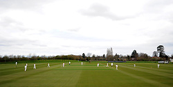 General view of Taunton Vale on Day Three of the match between Somerset and Durham MCCU. - Photo mandatory by-line: Harry Trump/JMP - Mobile: 07966 386802 - 04/04/15 - SPORT - CRICKET - Pre Season - Day 3 - Somerset v Durham MCCU - Taunton Vale, Somerset, England.
