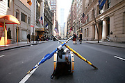 NEW YORK CITY - APRIL 9: Tartan Day Parade start.