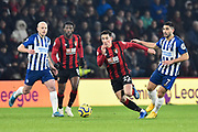 Harry Wilson (22) of AFC Bournemouth on the attack during the Premier League match between Bournemouth and Brighton and Hove Albion at the Vitality Stadium, Bournemouth, England on 21 January 2020.