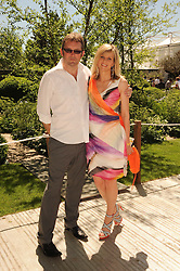 Th 2010 Royal Horticultural Society Chelsea Flower show in the grounds of Royal Hospital Chelsea, London on 24th May 2010.<br /> <br /> Picture shows:-LINDA BARKER and CHRIS SHORT