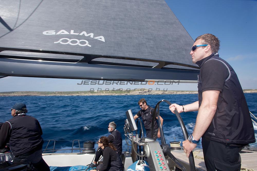 MENORCA MAXI 2014, on board Galma © Jesus Renedo