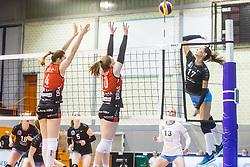Slavina Koleva of Calcit Ljubljana during the volleyball match between Calcit Ljubljana and Nova KBM Maribor at 2017 Slovenian Women Cup Final, on March 18th, 2017, SD Planina, Kranj, Slovenia. Photo by Grega Valancic / Sportida