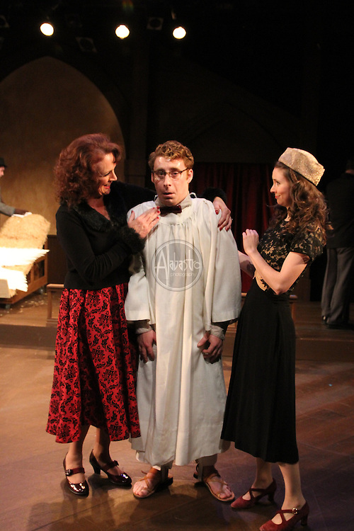 "Book-It Repertory Theatre production of ""Owen Meany's Christmas Pagent""."