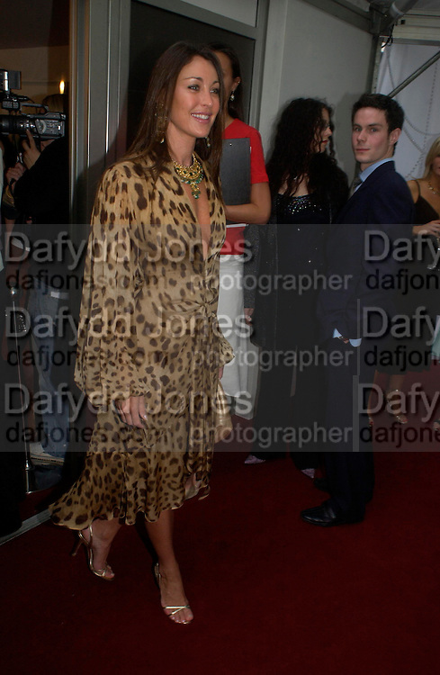 Tamara Mellon. Glamour Women Of The Year Awards 2005, Berkeley Square, London.  June 7 2005. ONE TIME USE ONLY - DO NOT ARCHIVE  © Copyright Photograph by Dafydd Jones 66 Stockwell Park Rd. London SW9 0DA Tel 020 7733 0108 www.dafjones.com