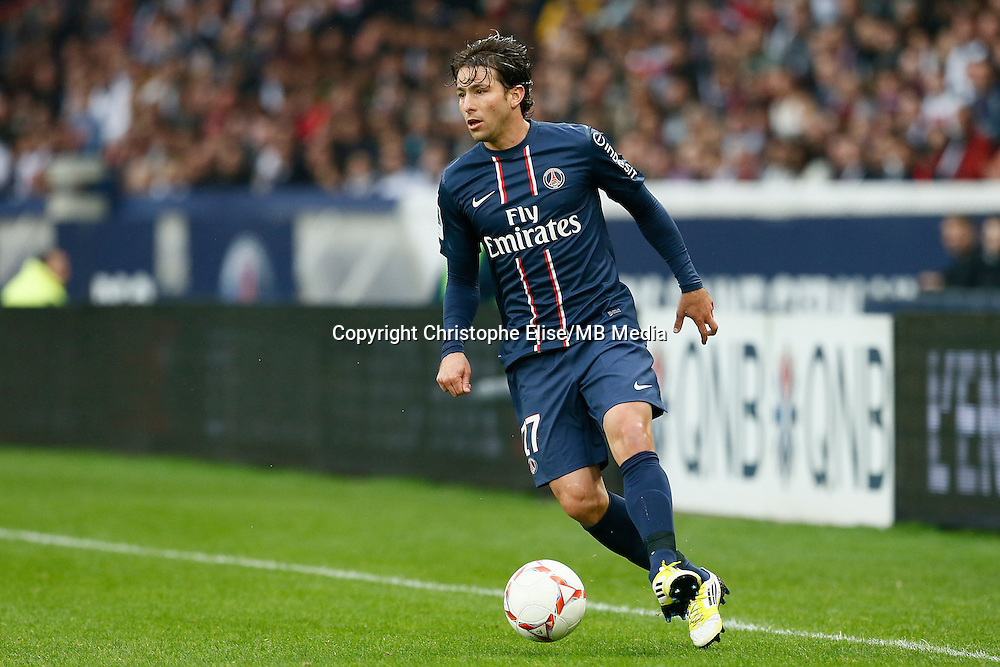 FOOTBALL - FRENCH CHAMPIONSHIP 2012/2013 - L1 - PARIS SAINT GERMAIN VS REIMS - 20/10/2012 - MAXWELL (PARIS SAINT-GERMAIN)