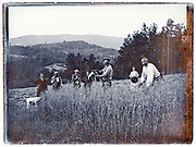 farmers family cutting wheat early 1900s France