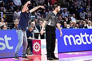 Gianmarco Pozzecco <br /> Consultinvest Bologna - XL Extralight Montegranro<br /> Lega Basket  LNP Serie A2  2017/2018<br /> Bologna, 31/03/2018<br /> Foto A.Giberti / Ciamillo - Castoria