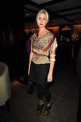 PRINCESS ELISABETH THURN & TAXIS at a dinner to celebrate the work of Malaria No More UK held at Hakkasan Mayfair, 17 Bruton Street, London W1 on 16th November 2010.