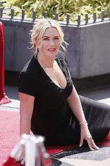 MAR 17 2014  Kate Winslet - Hollywood Walk of Fame