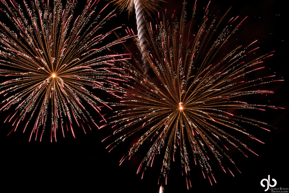 These are images from the fireworks display put on by Harvest Church in the Billings Heights.