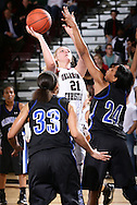 January 14, 2010: The Oklahoma City University Stars play against the Oklahoma Christian University Lady Eagles at the Eagles Nest on the campus of Oklahoma Christian University.