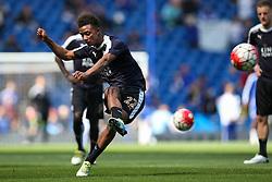 Demarai Gray of Leicester City warms up - Mandatory byline: Jason Brown/JMP - 15/05/2016 - FOOTBALL - London, Stamford Bridge - Chelsea v Leicester City - Barclays Premier League
