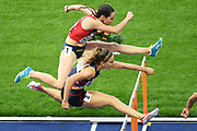 Laura Valette competes in women 100m hurdles during the European Championships 2018, at Olympic Stadium in Berlin, Germany, Day 3, on August 9, 2018 - Photo Philippe Millereau / KMSP / ProSportsImages / DPPI