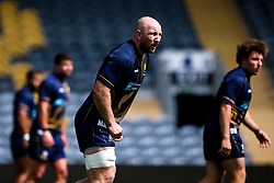 Matt Kvesic of Worcester Warriors during training ahead of the Gallagher Premiership fixture against Harlequins - Mandatory by-line: Robbie Stephenson/JMP - 24/08/2020 - RUGBY - Sixways Stadium - Worcester, England - Worcester Warriors Training