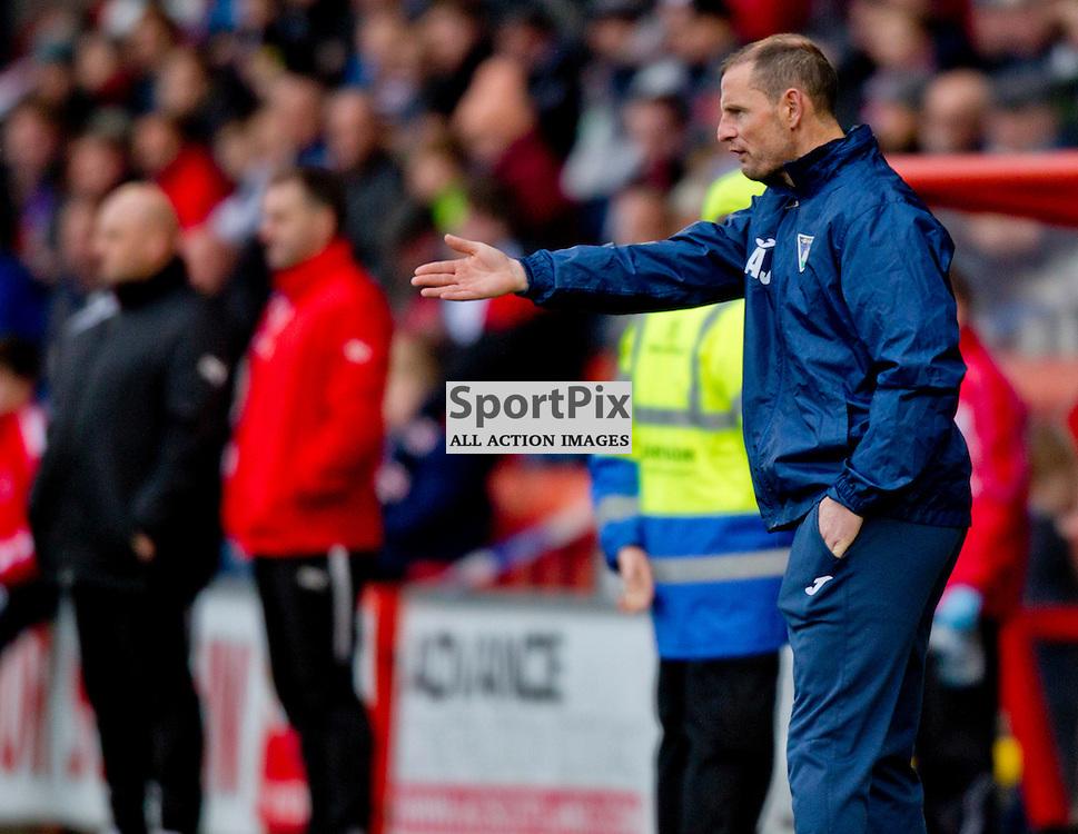 Airdrieonians v Dunfermline Athletic SPFL League One Season 2015/16 Excelsior Stadium 14 November 2015<br /> Allan Johnston<br /> CRAIG BROWN | sportPix.org.uk