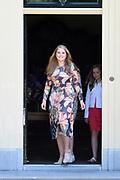 Zomerfotosessie 2018 bij Villa de Eikenhorst in Wassenaar<br /> <br /> Summer photo session 2018 at Villa de Eikenhorst in Wassenaar<br /> <br /> Op de foto / On the photo: prinses Amalia / Princess Amalia