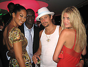 Kimora Lee Simmons, Djimon Hounsou, Kid Rock, May Anderson,.Grisogno Party.Hotel Du Cap - 2007 Cannes Film Festival .Cap D'Antibes, France .Tuesday, May 22, 2007.Photo By Celebrityvibe; .To license this image please call (212) 410 5354 ; or.Email: celebrityvibe@gmail.com ;