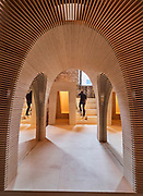 "FREESPACE - 16th Venice Architecture Biennale. Arsenale. Alison Brooks Architects, ""Recasting""."