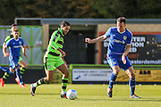 Forest Green Rovers Fabien Robert(26) runs forward during the Vanarama National League match between Forest Green Rovers and Guiseley  at the New Lawn, Forest Green, United Kingdom on 22 October 2016. Photo by Shane Healey.