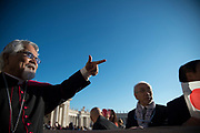 VATICAN CITY 11 OCTOBER 2017: Photographs from the General Audience with Pope Francis on October 11, 2017 at Saint Peters Square in Vatican City, Rome, Italy.
