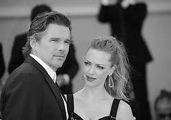 ***Alternative View*** Ethan Hawke and Amanda Seyfried attend the 'First Reformed' red carpet  during the 74th Venice Film Festival in Venice, Italy, on August 31, 2017. (Photo by Matteo Chinellato/NurPhoto/Sipa USA)