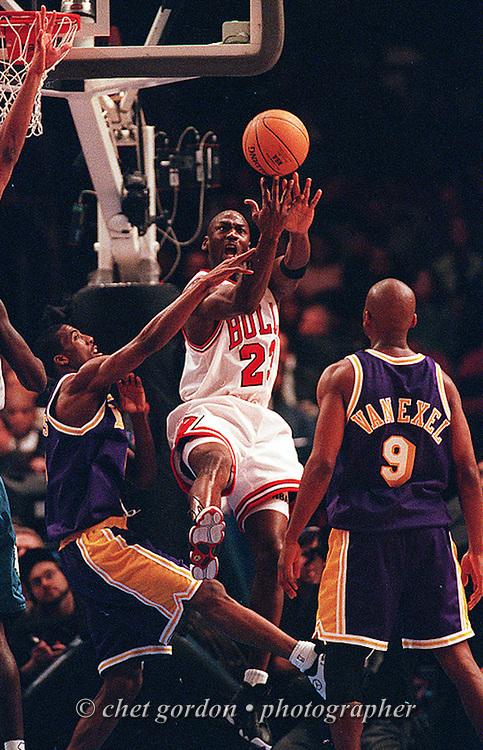 Michael Jordan. 1998 NBA All-Star Game MVP. Madison Square Garden. New York, NY.