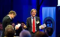 UTRECHT -  NVG directeur Lodewijk Klootwijk. , A tribe called Golf, de kracht van de connectie. Nationaal Golf Congres van de NVG 2014 , Nederlandse Vereniging Golfbranche. COPYRIGHT KOEN SUYK