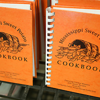 Lauren Wood | Buy at photos.djournal.com<br /> The Mississippi Sweet Potato Cookbook includes recipes from all the winners of the sweet potato cooking contest held during the Sweet Potato Festival in November each year in Vardaman.