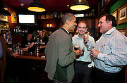 17.MARCH.2012. WASHINGTON D.C<br /> <br /> PRESIDENT BARACK OBAMA GREETS THE CROWD AT THE DUBLINER, AN IRISH PUB IN WASHINGTON, D.C., ON ST. PATRICK'S DAY, SATURDAY, MARCH 17, 2012.  <br /> <br /> BYLINE: EDBIMAGEARCHIVE.COM<br /> <br /> *THIS IMAGE IS STRICTLY FOR UK NEWSPAPERS AND MAGAZINES ONLY*<br /> *FOR WORLD WIDE SALES AND WEB USE PLEASE CONTACT EDBIMAGEARCHIVE - 0208 954 5968*
