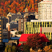 St. John the Evangelist Anglican Church, University of Quebec at Montreal, McGill University, Royal Victoria Hospital, and Park Royal, Montreal, Quebec, Canada