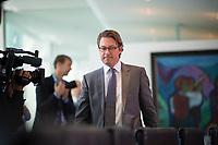 DEU, Deutschland, Germany, Berlin, 21.08.2019: Bundesverkehrsminister Andreas Scheuer (CSU) vor Beginn der 64. Kabinettsitzung im Bundeskanzleramt.