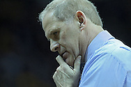 January 14, 2011: Michigan Wolverines head coach John Beilein during the NCAA basketball game between the Michigan Wolverines and the Iowa Hawkeyes at Carver-Hawkeye Arena in Iowa City, Iowa on Saturday, January 14, 2011. Iowa defeated Michigan 75-59.