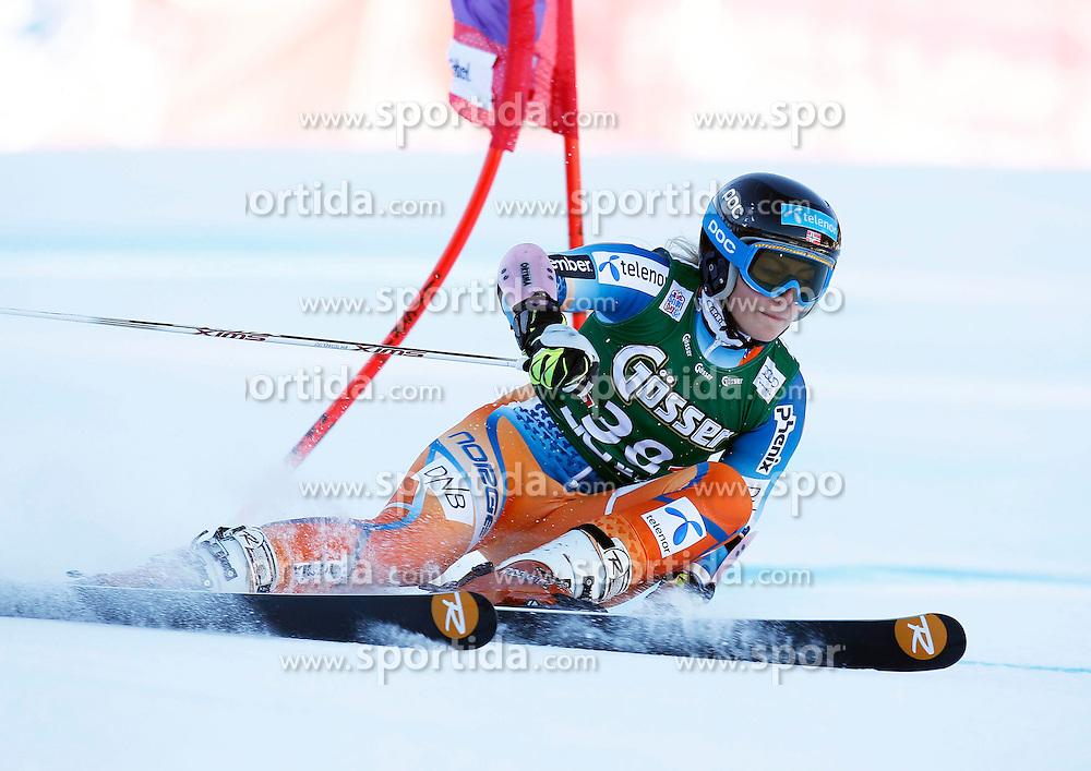28.12.2013, Hochstein, Lienz, AUT, FIS Weltcup Ski Alpin, Damen, Riesenslalom 2. Durchgang, im Bild Ragnhild Mowinckel (NOR) // Ragnhild Mowinckel of (NOR) during ladies Giant Slalom 2 nd run of FIS Ski Alpine Worldcup at Hochstein in Lienz, Austria on 2013/12/28. EXPA Pictures © 2013, PhotoCredit: EXPA/ Oskar Höher