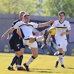 Garry Fleming make a rare start  during the Dumbarton v Falkirk Scottish Championship 06 May 2017<br /> <br /> <br /> <br /> <br /> <br /> (c) Andy Scott | SportPix.org.uk