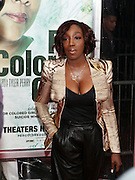 25 October 2010- New York, NY- Estelle at Tyler Perry's World Premiere of the Film 'For Colored Girls ' an Adaptation of Ntozake Shange's play ' For Colored Girls Who Have Considered Suicide When the Rainbow Is Enuf.' held at the Zeigfeld Theater on October 25, 2010 in New York City.